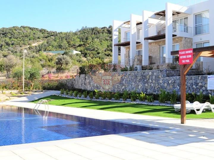 Residential complex of apartments in Kundu. Antalya, house near the sea Turkey
