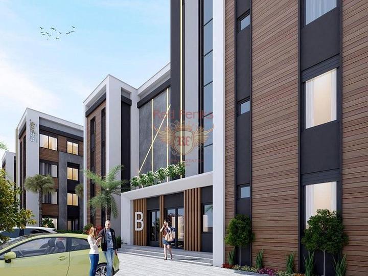 Выгодная инвестиция, квартиры 3+1 в Алании, купить квартиру в Алания
