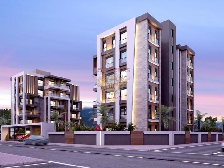 Современный жилой комплекс в Анталии, купить квартиру в Анталия