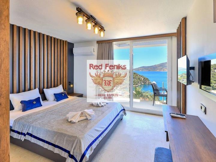 Luxury property - 4 + 1 villa in Ovajik Fethiye, Fethiye house buy, buy house in Turkey, sea view house for sale in Turkey