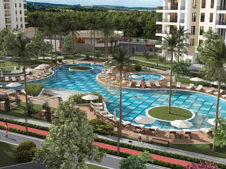 Двухэтажные виллы 4+1 160 кв.м в Белеке на стадии строительства в рассрочку, Дом в Анталия Турция