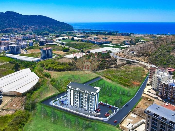 4 этажная вилла высокого качества 5+1 270 кв.м в 4 км от пляжа, Дом в Анталия Турция