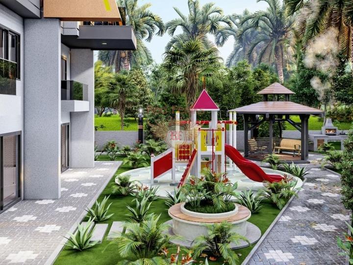 Продается здание из 16 квартир и 1 коммерческого помещения в Коньяалты, Коммерческая недвижимость в Анталия Турция