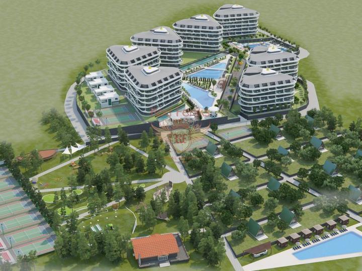 Резиденции - квартиры 2+1 в новом жилом комплексе в Стамбуле, Квартира в Стамбул Турция
