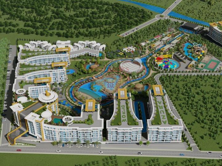 Villa 4 + 1 am Calis Beach - Fethiye zu verkaufen, Villa in Фетхие kaufen, Villa in der Nahe des Meeres Фетхие