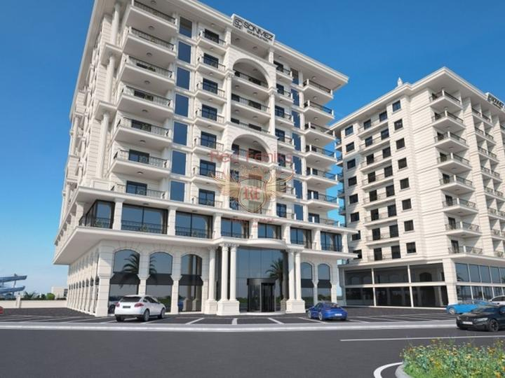 For Sale Apartment 1 + 1 on the first coastline of Fethiye-Calis, apartment for sale in Фетхие, sale apartment in Фетхие, buy home in Turkey