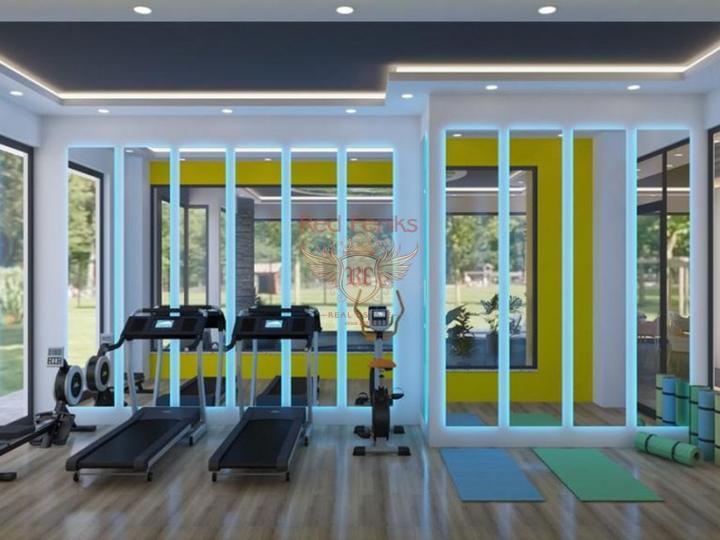 Квартира 2+1 у моря в шаговой доступости до пляжа Чалыш-Фетхие, Квартира в Фетхие Турция
