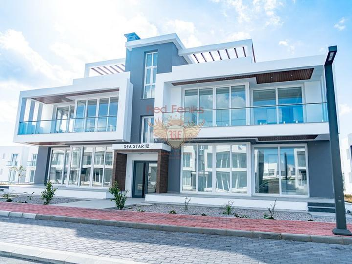 Residential complex of apartments in Kundu. Antalya, Turkey real estate, property in Turkey, Antalya house sale