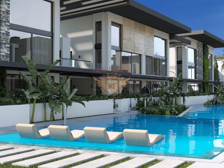 3 + 1 villa. Jacuzzi, Sauna. 1.5 km from Calis beach. Koca Calis, Fethiye, Turkey real estate, property in Turkey, Fethiye house sale