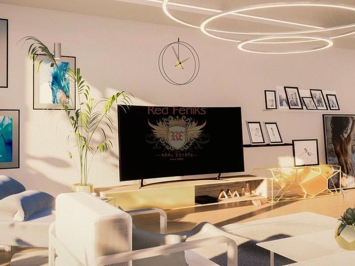 Двухэтажная вилла 3+1 с площадью 186,5 кв.м в коттеджном поселке, купить дом в Анталия