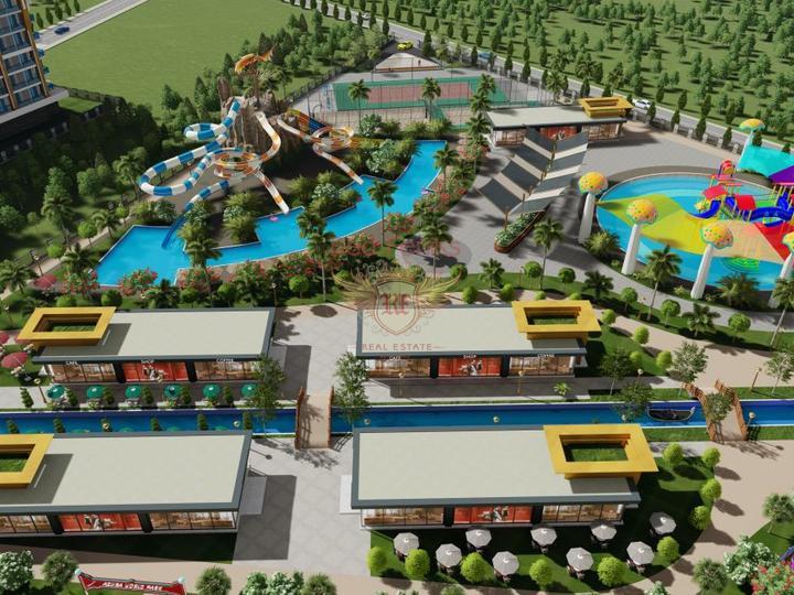 Роскошная вилла 4 + 1 в Оваджике-Фетхие с видом на горы, Дом в Фетхие Турция