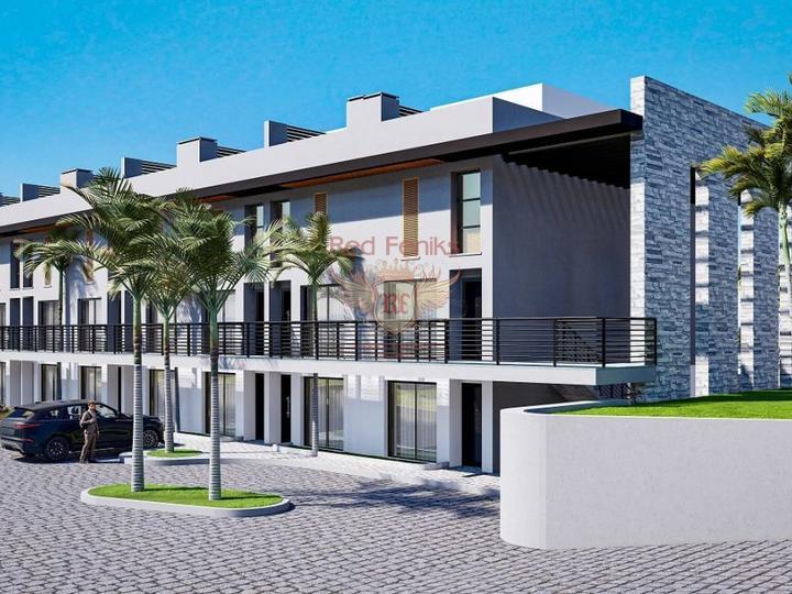 4 + 1 Villen im Hisaronu Center - Fethiye zu verkaufen, Haus in der Nahe des Meeres Turkey, Haus Kaufen in Fethiye