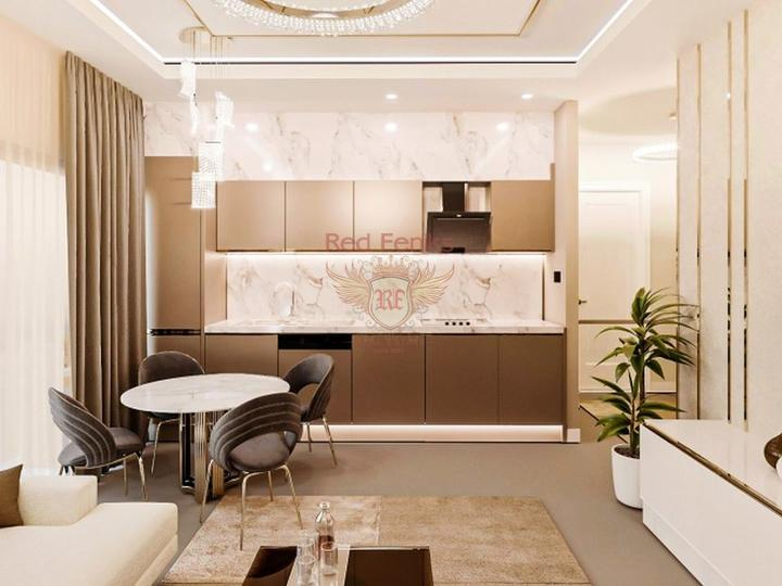 Off plan 2 + 1 Apartment 500 m from Calis Fethiye Beach For Sale, sea view apartment for sale in Turkey, buy apartment in Fethiye, house in Fethiye buy