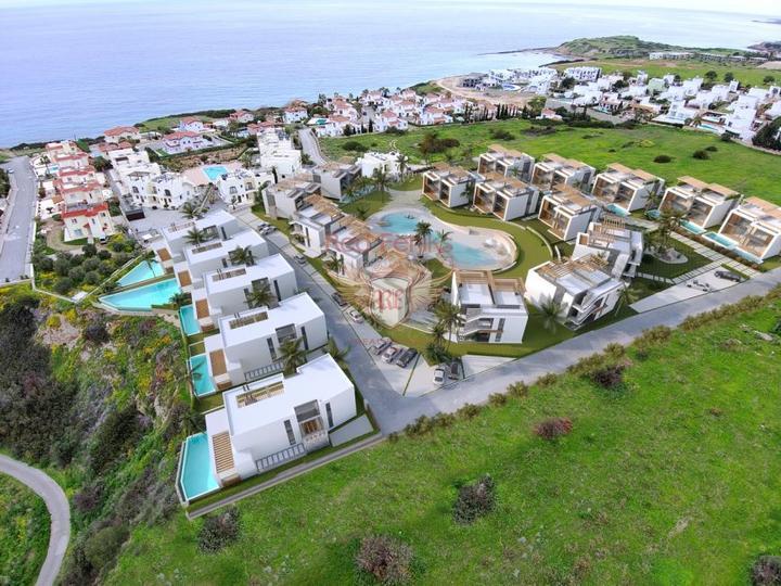 Двухуровневая квартира 2+1 в Чалыше – Фетхие, Квартира в Фетхие Турция