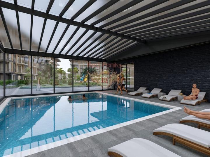 Дуплекс 2+1 в Чалыше-Фетхие 50м от Пляжа, купить квартиру в Фетхие