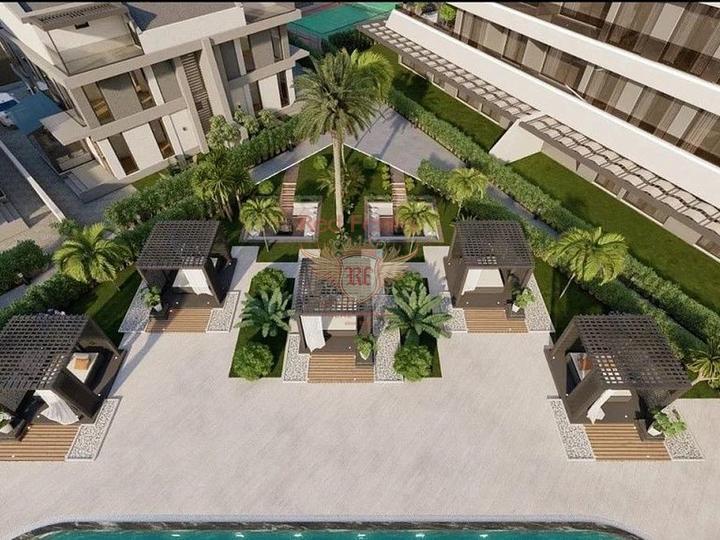 Уютные квартиры в великолепном комплексе, квартиры в Анталии/Лиман, Квартира в Анталия Турция