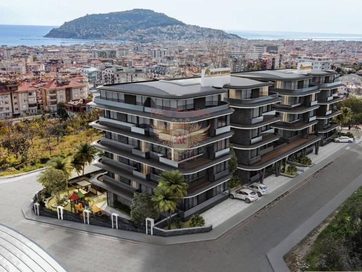 Новые квартиры в Анталии всего в 150м до моря, Квартира в Анталия Турция