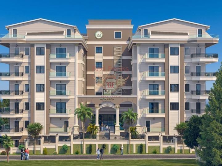 Kein% Ratenzahlungsplan, Wohnungen in Antalya, Wohnung mit Meerblick zum Verkauf in Turkey, Wohnung in Antalya kaufen, Haus in Antalya kaufen