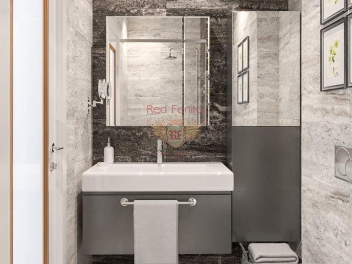 3 + 1 villa. Jacuzzi, Sauna. 1.5 km from Calis beach. Koca Calis, Fethiye, buy home in Turkey, buy villa in Fethiye, villa near the sea Fethiye