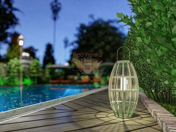 Апартаменты дуплекс 3+1 в Ташьяке (Фетхие) с потрясающим видом на город и море, купить квартиру в Фетхие