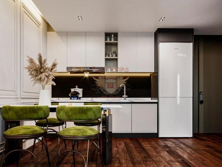 4 этажная вилла высокого качества 5+1 270 кв.м в 4 км от пляжа, купить дом в Анталия
