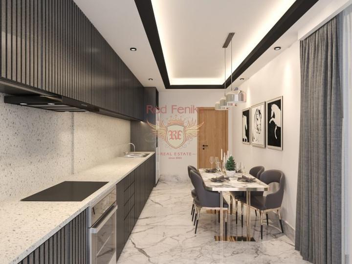 Квартира 3+1 164 кв.м на первой линии, с видом на море и горы., купить квартиру в Анталия