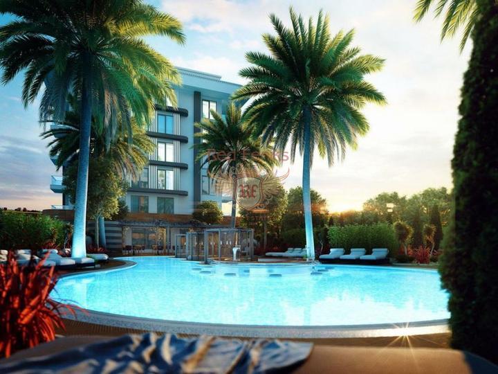 Меблированная квартира дуплекс 3+1. Хисарону, Олюдениз, купить квартиру в Фетхие