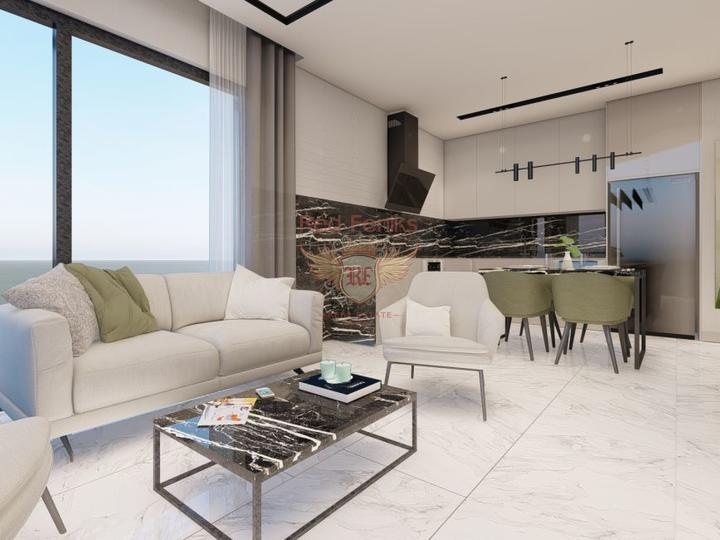 Villa 4 + 1 300m from Calis Fethiye Beach for sale, Фетхие house buy, buy house in Turkey, sea view house for sale in Turkey