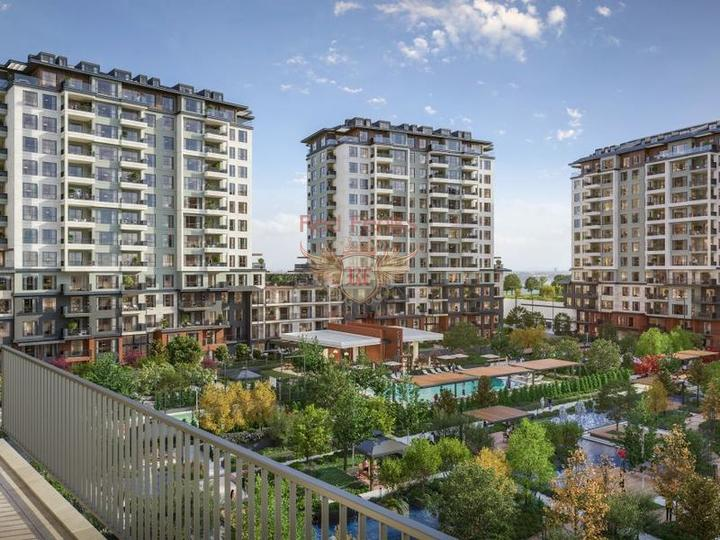 Off plan 2 + 1 Apartment 500 m from Calis Fethiye Beach For Sale, Turkey real estate, property in Turkey, flats in Fethiye, apartments in Fethiye