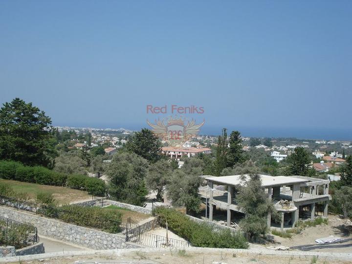 Роскошная 4-х спальная вилла с большим бассейном, центральным отоплением и кондиционерами, купить дом в Кирения