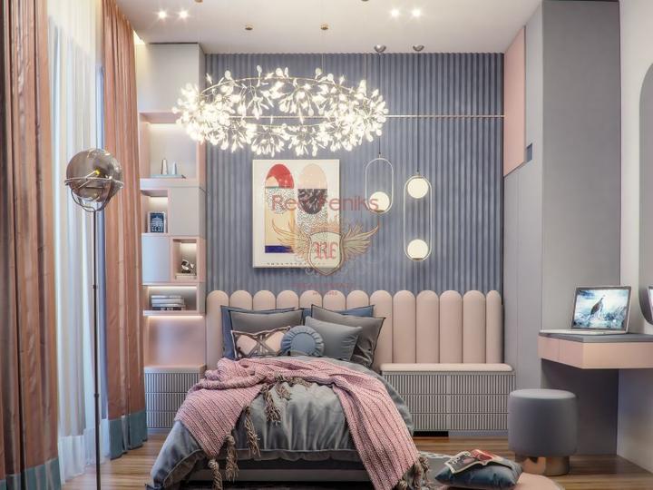 For Sale Villa 4 + 1 in Oludeniz - Fethiye, buy home in Turkey, buy villa in Fethiye, villa near the sea Fethiye