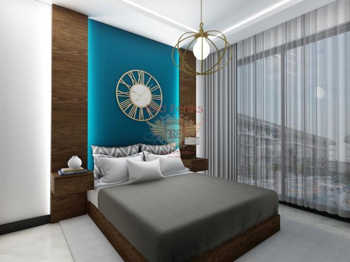 Дуплекс 2+1 в Чалыше-Фетхие 50м от Пляжа, Квартира в Фетхие Турция
