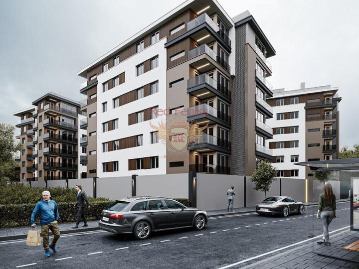 Новый жилой комплекс расположен в курортном городе Даламане на участке 3300 кв.м, купить квартиру в Даламан