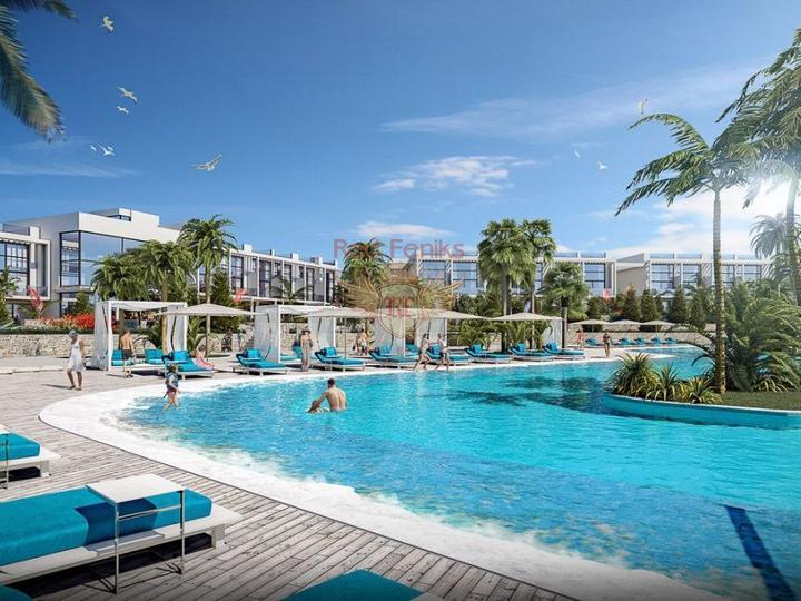 Виллы 6+1 с возможностью получения турецкого гражданства для всех членов семьи, Вилла в Анталия Турция