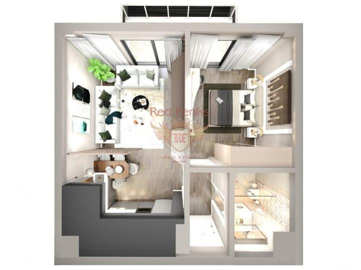 Четырех этажные виллы 6+1 с возможностью получения турецкого гражданства для всех членов семьи, купить виллу в Анталия