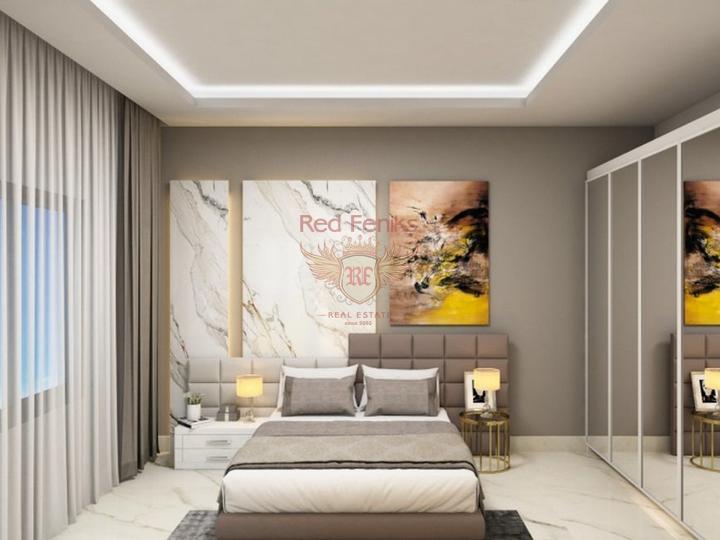 4 этажная вилла высокого качества 5+1 270 кв.м в 4 км от пляжа, купить виллу в Анталия