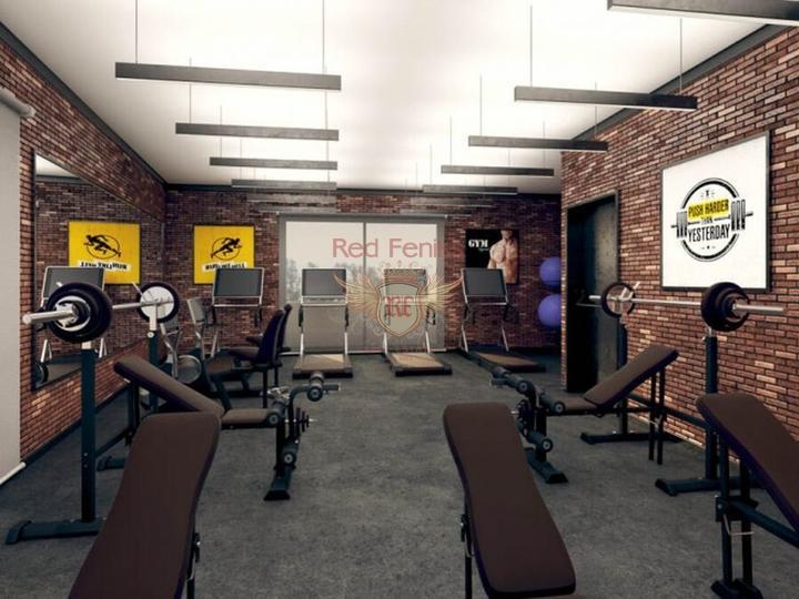 Продается здание из 16 квартир и 1 коммерческого помещения в Коньяалты, купить коммерческую в Анталия