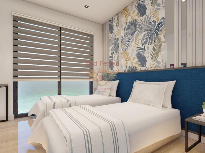 Резиденции - квартиры 2+1 в новом жилом комплексе в Стамбуле, купить квартиру в Стамбул