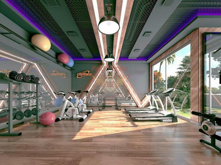 Продажа виллы с видом на море в Алании Тепе - Бекташ, купить виллу в Алания