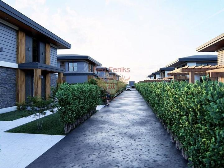 3 + 1 Duplex Apartment Near Calis Fethiye Beach for sale, apartments in Turkey, apartments with high rental potential in Turkey buy, apartments in Turkey buy