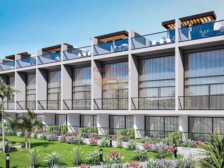 4 + 1 Villen im Hisaronu Center - Fethiye zu verkaufen, Turkey Immobilien, Immobilien in Turkey