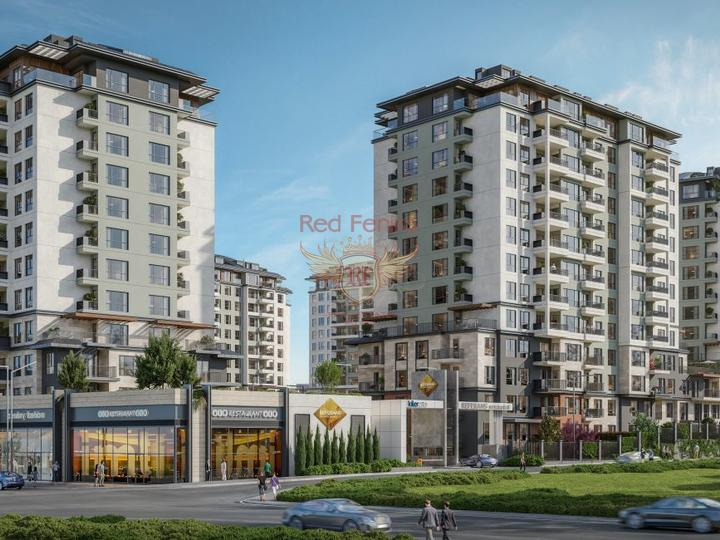 For Sale 2 + 1 Apartments on the first coastline of Fethiye-Calis, apartments in Turkey, apartments with high rental potential in Turkey buy, apartments in Turkey buy