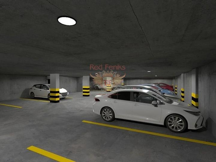 For Sale Apartment 1 + 1 on the first coastline of Fethiye-Calis, apartments in Turkey, apartments with high rental potential in Turkey buy, apartments in Turkey buy
