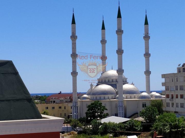 Квартиры 2+1 в новом комплексе, в регионе Анталия, купить квартиру в Анталия