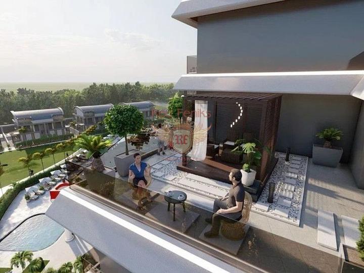 Новые квартиры в Анталии. Рассрочка на 2 года!!!, купить квартиру в Анталия