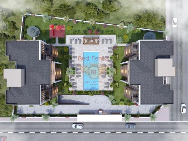 Трехкомнатная квартира в Анталии у моря, купить квартиру в Анталия