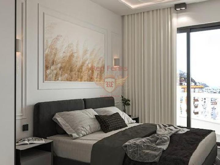 Двухэтажные виллы 4+1 162 кв.м на участке 420 кв.м на стадии строительства с рассрочкой, Дом в Анталия Турция