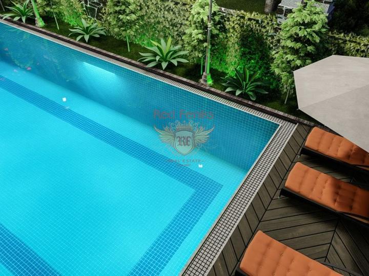 Квартира 3+1 162 кв.м на первой линии, с видом на море и горы, Квартира в Анталия Турция