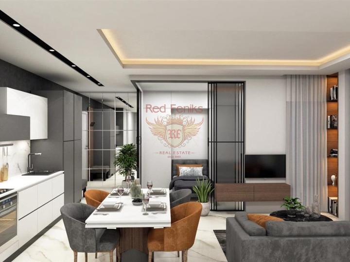 Квартиры в Махмутларе, Алания с рассрочкой. Арендный доход!, Квартира в Алания Турция