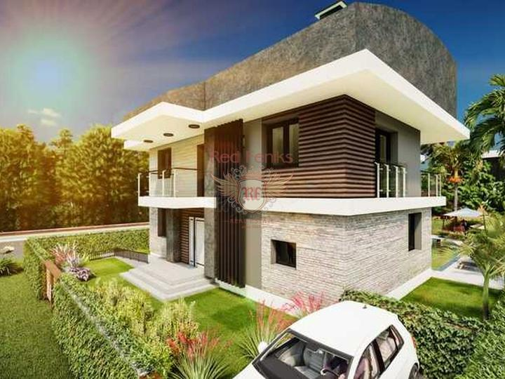 Apartment 1 + 1 in a complex 500 m from Calis beach in Fethiye.